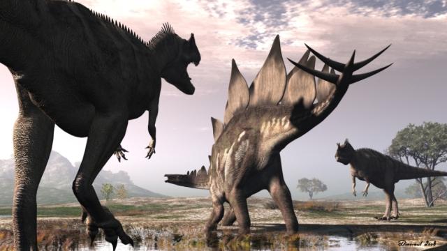 ceratosaurus-stegosaurus