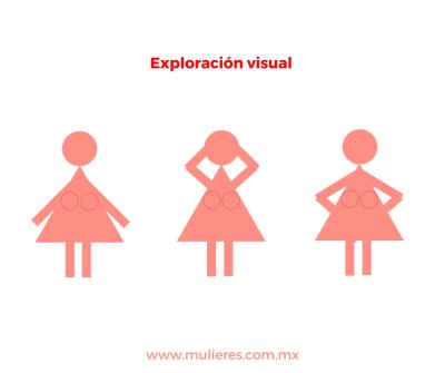 Exploración visual de cáncer de mama